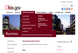 Ohio Business Gateway Screenshot