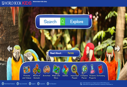 World Book Kids Online Screenshot
